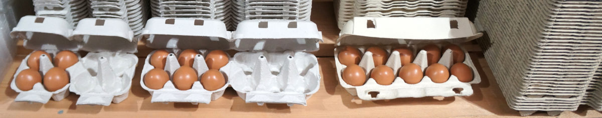 Eierkartons günstig kaufen